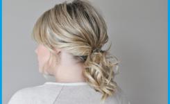 pferdeschwanz-blond-frisuren-mittellange-haare-selber-machen