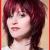 Roten Haaren fransige frisuren mittellang