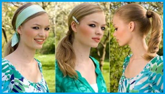 Permalink to Schöne frisuren für die schule mit haarband