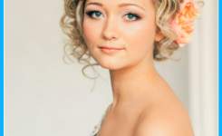 schone-locken-bob-kurz-haare-frisuren-hochzeit-blond-frisur-ideen-mit-blumen