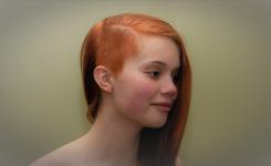 Trends moderner frisuren dünne haare unterbieten side cut. Tolle Idee Farbauswahl braun für lange haare.