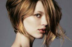 Asymmetrische Frisuren Mittellang