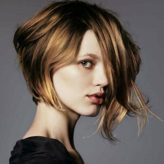 Permalink to Asymmetrische Frisuren Mittellang