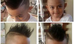 Coole frisuren für jungen kurz mit langen Haaren an der Spitze