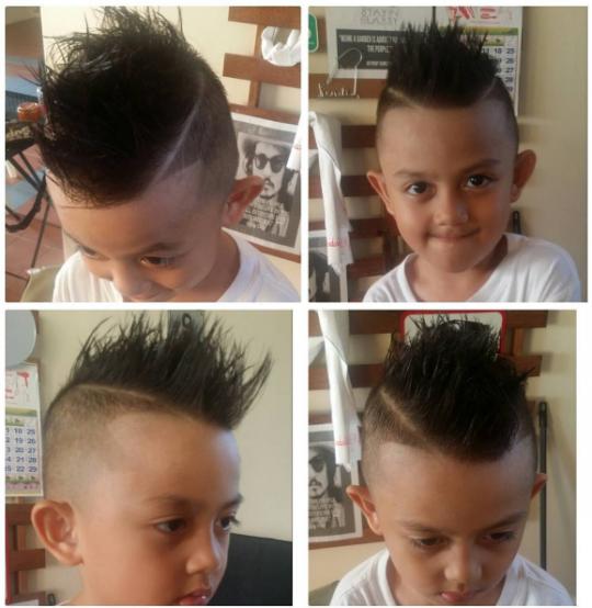 Permalink to Coole frisuren für jungen kurz mit langen Haaren an der Spitze