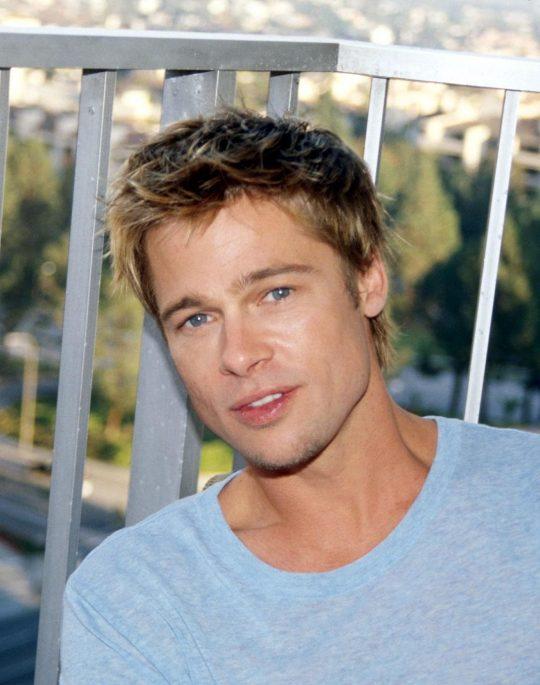 Permalink to Brad Pitt **usa Only** © Retna Ltd.