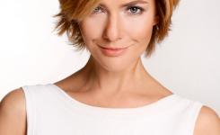Damen Frisur Modisch Und Trendy Macht Ein Mensch Zu Werden Flinker Und Schön
