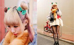 Einfache Halloween Frisuren Haarknoten Blond Haare