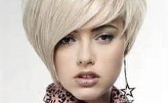 Frisur Kurz Frauen Blonde