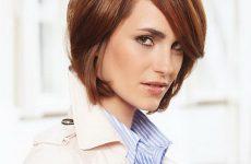 Frisuren Für Dünne Haare Mittellang Geeignet Auch Für Kurze Haare, Für Den Eindruck Der Agile Und Energische Frau