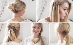 Frisuren Für Die Schule Anleitung Für Lange Haare Mit Zöpfen