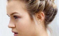 Frisuren Für Kurze Haare Flechten