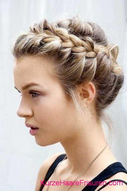 Permalink to Frisuren Für Kurze Haare Flechten