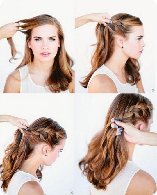 Permalink to Frisuren Für Lange Haare Zum Selber Machen