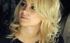 Frisuren Frauen Mittellang Blond