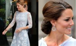 Frisuren Hochzeit Selber Machen Schön Und Elegant Für Langes Haar, Ohne Pony Vor