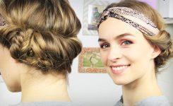 Frisuren Mit Haarband Youtube