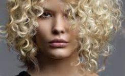 Frisuren Mittellang Blond Locken