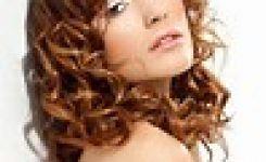 Frisuren Mittellang Lockiges Haar