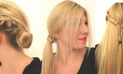 Frisuren Zum Selber Machen Für Die Schule Mit Kleinen Zöpfen Für Glattes Haar