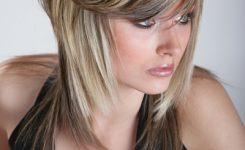 Halblange Frisuren Blond