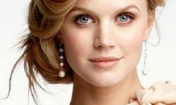 Hochzeit Frisur Schön Und Elegant Für Gerade Blonden Haaren Und Leicht, Sich Selbst Zu Tun
