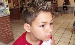 Jungs Frisur Kühle Und Slang