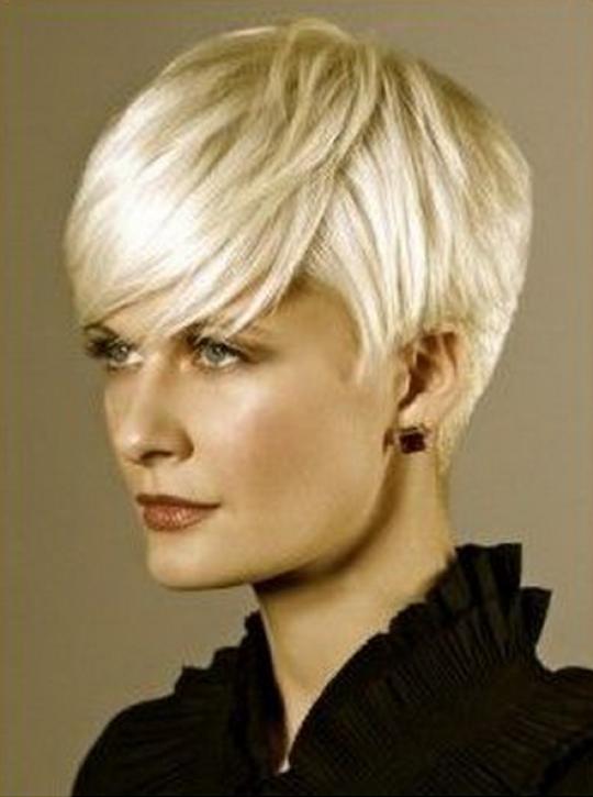 Permalink to Kurz Frisuren Damen Glatten Haaren Blonde Erhöhen Den Eindruck Von Kühler