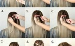 Lange Haare Frisur Anleitung