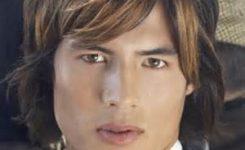 Lange Haare Frisur Mann